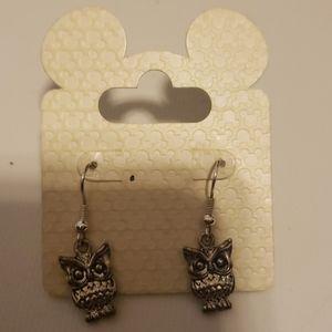 NEW Disney Owl Dangle Earrings